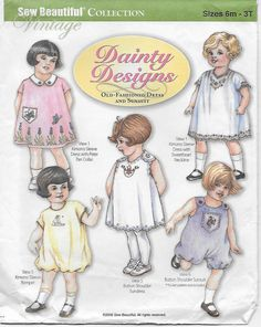Dainty Designs Sew Beautiful Collection Vintage by DonnasStuffMore