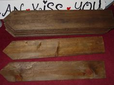 Rustic Wedding signs 9 Blank wood sign DIY by primitivearts, $90.00