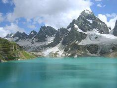 "Kashmir, India-Nagin Lake, Gulmarg Gondola ""World's Highest Cabe Car"""