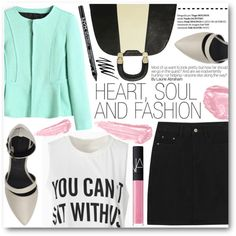 Heart,Soul and Fashion by stylemoi-offical on Polyvore featuring moda, Modern Vintage, NARS Cosmetics, By Terry, NYX and Prescriptives