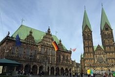 La magistral arquitectura de Bremen