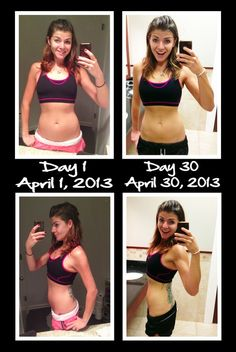 My 30 Day Ab Challenge: the results are in! My before and after pictures after 30 days of ab exercises. It may not look much different--but my tummy is significantly tighter and I feel so super confident! Perfect for hitting the beaches this summer!