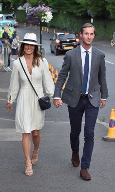 Pippa Middleton and husband James Matthews looked like they were very much still in honeymoon mode throughout their day out at the sporting event.