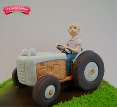 Vintage Tractor by The Custom Cakery