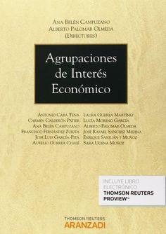 Las agrupaciones de interés económico / Ana Belén Campuzano, Alberto Palomar Olmeda, dirección. - 2014