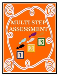 Multi-Step Word Problem Assessment - Common Core