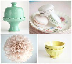 Fiestas con Etsy: una 'tea party' en tonos pastel - All Lovely Party