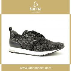 http://www.kannashoes.com/menu/tienda/otono-invierno-1617/id212-ki6600-glitter-negro.html  #shoes #kannashoes #kanna #autumn #winter #newseason #fashion #woman