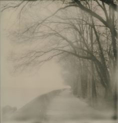 Eerie by Batara, via Flickr  Impossible Project's PX100 film is getting better and better.