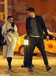 Robert Pattinson and FKA Twigs in NYC