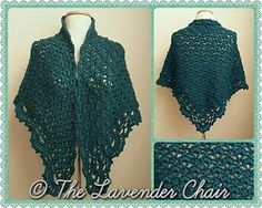 Daisy Fields Shawl - Free Crochet Pattern - The Lavender Chair