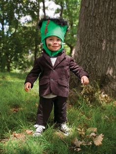 Homemade Halloween Costumes for Kids - Easy Homemade Halloween Costumes - Parenting.com  Easy Frankenstein