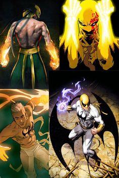 Iron Fist Marvel Comics Superheroes, Marvel Comic Books, Marvel Dc Comics, Anime Comics, Comic Books Art, Comic Art, Marvel And Dc Characters, Superhero Characters, Comic Book Characters