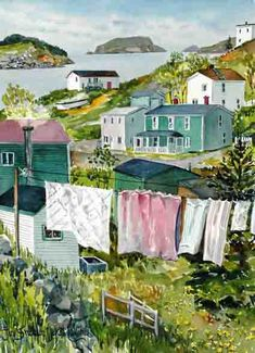Ways On How To Take Better Landscape Photos Newfoundland Canada, Newfoundland And Labrador, O Canada, Canada Travel, Laundry Art, Atlantic Canada, Bed Runner, Prince Edward Island, Whimsical Art