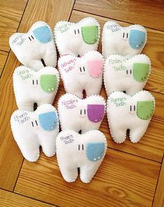 Little 2019 Handmade Personalised Tooth Fairy Pillows! Little The post Handmade Personalised Tooth Fairy Pillows! Little 2019 appeared first on Pillow Diy. Kids Crafts, Baby Crafts, Felt Crafts, Fabric Crafts, Sewing Crafts, Craft Projects, Sewing Tips, Sewing Basics, Sewing Hacks