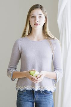 march pullover designed by pam allen / from the piper 2016 collection by the quince & co. design team / in quince & co. piper