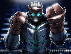Atom from Real Steel #fanart