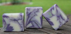 Clyde Slide in Lavender Green Tea by Janelle Peck