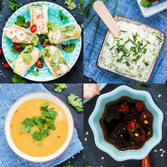 Vietnamilaiset kevätrullat ja raikasta valkkaria Curry, Ethnic Recipes, Food, Curries, Meals, Yemek, Eten