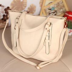 Fashion Simple Belt Messenger&Shoulder Bag(slooo)