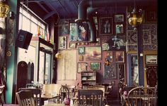 the gypsy den cafe, costa mesa. Love this place! :)))) Need to visit my bro soon so I can enjoy a chai cupcake. Soooo good!