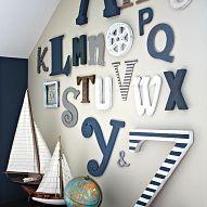 Creative nautical playroom makeover