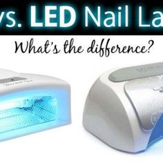 I receive a lot of questions about UV and LED lamps for curing gel polish, and thought it might be helpful to provide a brief comparison of the two. UV LED Cost More affordable Generally more expen… Mood Gel Polish, Kiara Sky Gel Polish, Uv Nail Lamp, Opi, Nail Care Tips, Nail Tips, Wood Nails