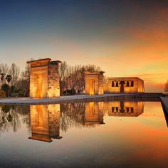 Temple of Debod (21 Remarkable Things to Do in Madrid Spain).