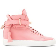 Buscemi 100MM Alta High Top Leather Sneakers