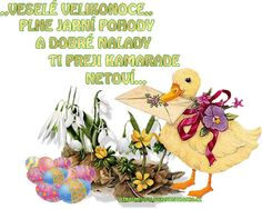 Veselé Velikonoce Rooster, Chicken