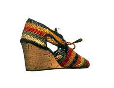 Sandalo femminile, Salvatore Ferragamo, 1942, courtesy Museo Salvatore Ferragamo.
