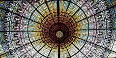 BARCELLONA - Palau Musica Catalana lucernario