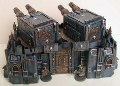 Imperial Battery Gun  Imperium of Man