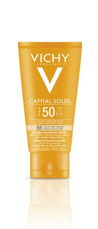 N.20€.   Vichy Capital Soleil BB Dry Touch SPF 50 50 ml - Apteekkituotteet.fi verkkoapteekki