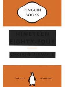 George Orwell, Nineteen Eighty-Four, Penguin 2013. The best cover ever devised for the book, by David Pearson. He also designed the Penguin Great Ideas series covers, brilliantly. http://www.typeasimage.com