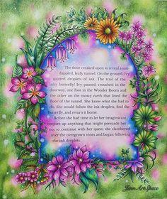 "Gefällt 37 Mal, 5 Kommentare - JennZreagat (@jennartspace) auf Instagram: ""Magical Garden from Ivy and the Inky Butterfly by Johanna Basford. . . . . #johannabasford…"""