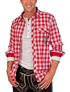 H1416 - Trachtenhemd langer Arm