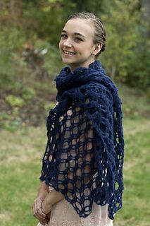 Heavenly Lace Shawl - free crochet pattern by Bobbi Hayward for Cascade Yarns. Aran weight.