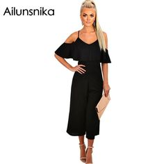 Be effective with this product Ailunsnika2017 Su... and stop doubting yourself, see it on Costbuys http://www.costbuys.com/products/ailunsnika2017-summer-women-sexy-fashion-spaghetti-strap-calf-length-romper-black-ruffle-frill-culotte-wide-leg-jumpsuit-dl64254?utm_campaign=social_autopilot&utm_source=pin&utm_medium=pin