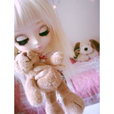 My very first Pullip doll Pullip Kiyomi, Isla. I have re-wigged her and change her lashes :) #pullip