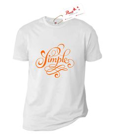 Tricou Text Simple