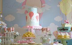 Hot Air Balloon First Birthday