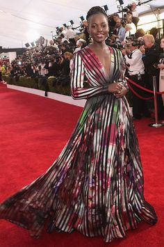 The Best Red Carpet Looks from the Screen Actors Guild Awards via @WhoWhatWear