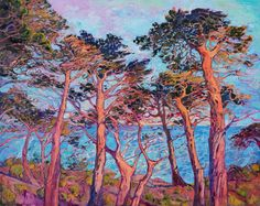 "Saatchi Art Artist Erin Hanson; Painting, ""Seventeen Mile Drive"" #art"