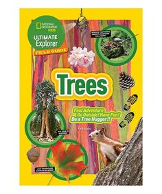 Another great find on #zulily! Ultimate Explorer Field Guide: Trees Paperback #zulilyfinds