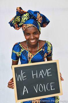 WE HAVE A VOICE : #womensday #shootforchange #rwanda #women #empower #strongwomen #strong #africa #timeforchange #believe  Support International Women's Day 8th March http://www.internationalwomensday.com/   © Tash McCarroll Photography https://www.facebook.com/TashMcCarrollPhotoPhilanthropy