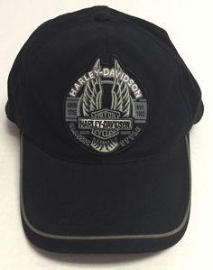 70cd3e04042 Harley-Davidson Baseball Cap Fitted Solid Hats for Men
