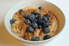 Blueberry Coconut Breakfast Millet   Habits for the Soul ♥ #habitsforthesoul #healthy #recipe #breakfast
