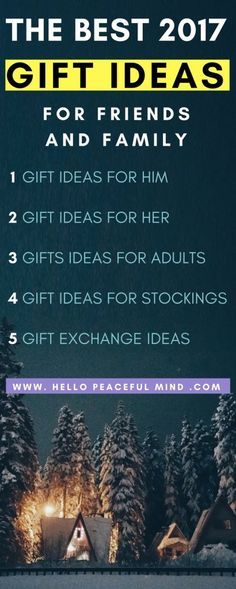 Discover gift ideas for men, women, friends, adults, family, stockings, gift exchange, white elephant, secret santa on www.HelloPeacefulMind.com