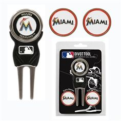 Miami Marlins Divot Tool Pack